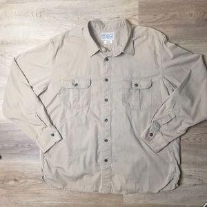 Lucky Brand Mens Dungarees long sleeve shirt XL